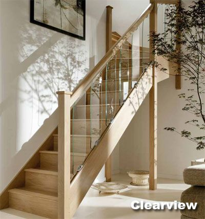 Best Axxys Clearview Glass Balustrade Stairs Glass 400 x 300