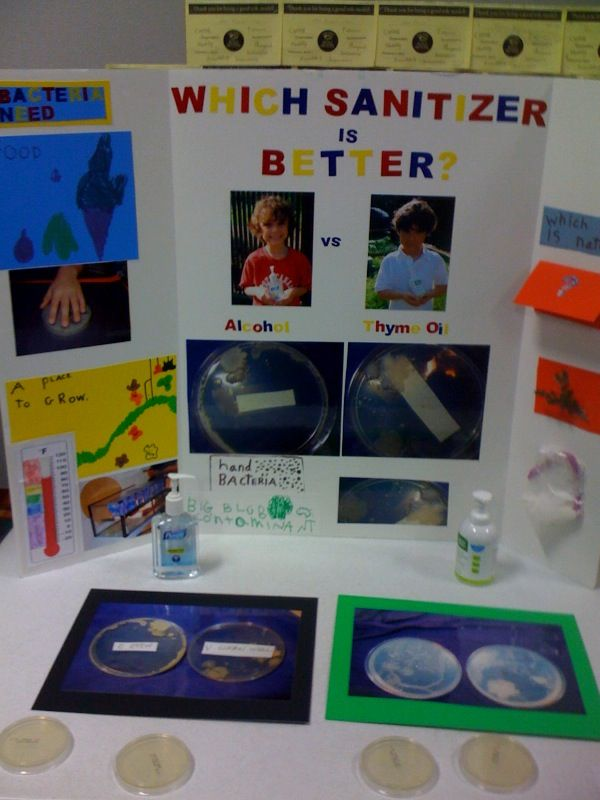 Science Fair Project For My 3rd Grader We Used Glogerm To Find