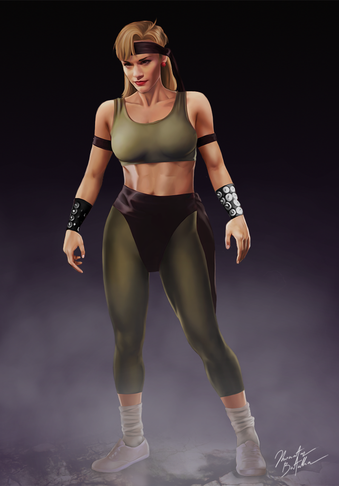 Mortal Kombat Lt Sonya Blade By Jhonatasbatalha