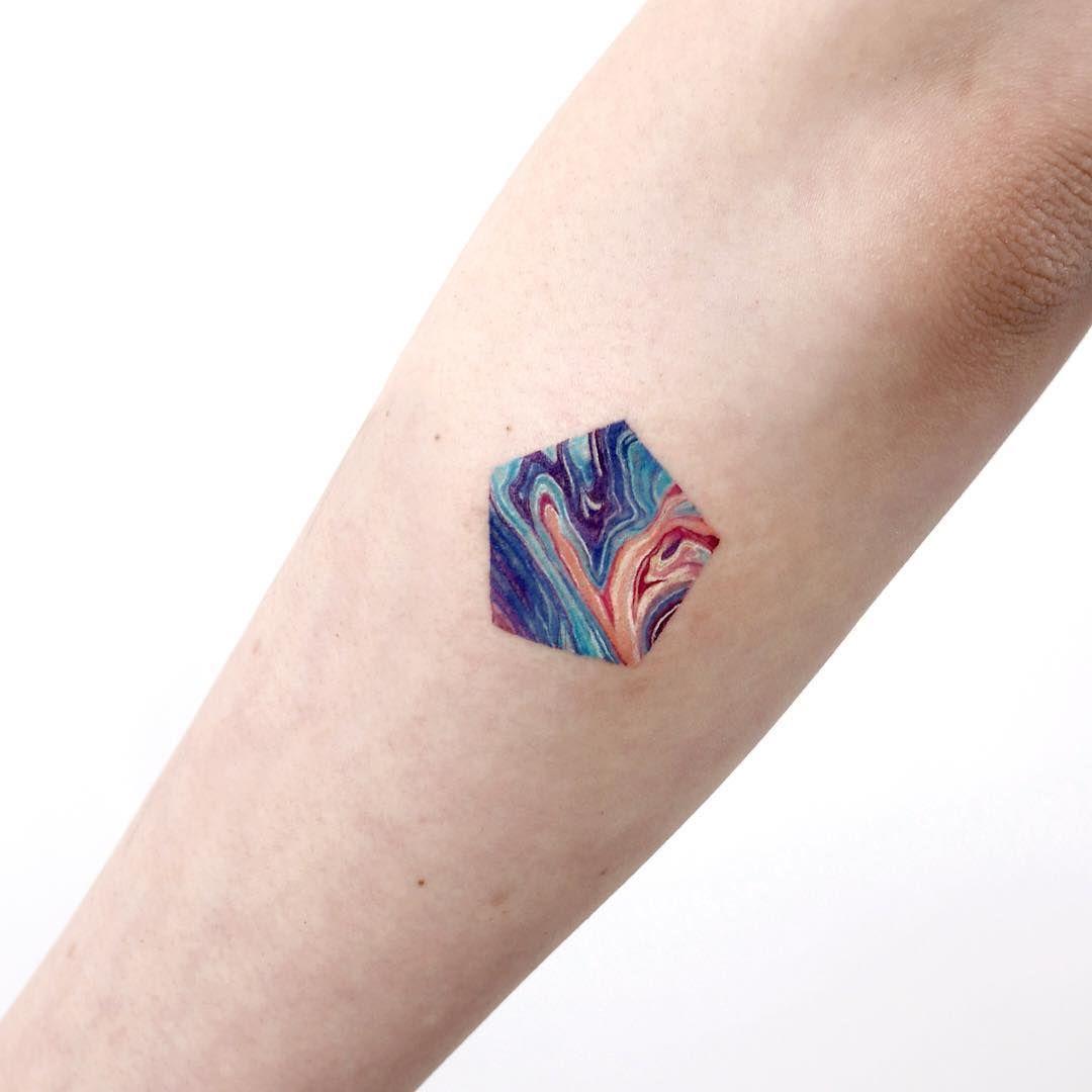 Sol Tattoo Studio On Instagram Sigak S Marbling Tattoos 1 5 Studiobysol Tattooist Sigak Studiobysol Ko Inspirational Tattoos Tattoos Body Art Tattoos