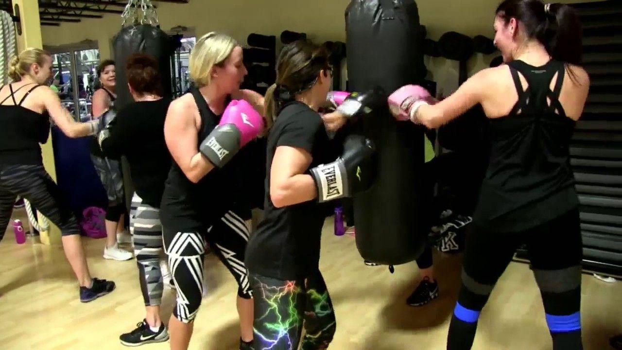 Cathe Friedrich's Kick Punch Cardio Live Workout