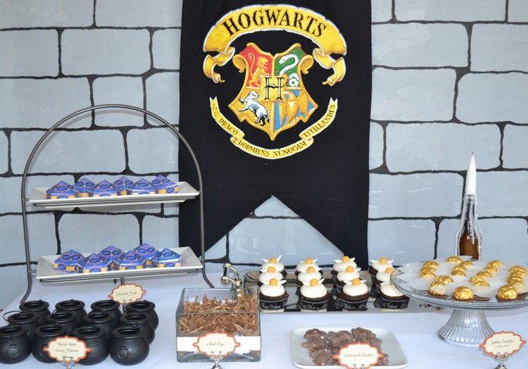 Harry potter party zum geburtstag ideen f r deko rezepte und co harrypotter pinterest - Harry potter party deko ...