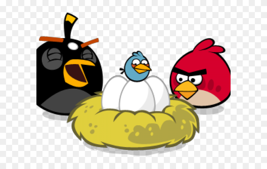 Download Hd Nest Clipart Angry Bird Angry Birds Eggs In Nest Png Download And Use The Free Clipart For Your Creative Angry Birds Eggs Bird Eggs Angry Bird