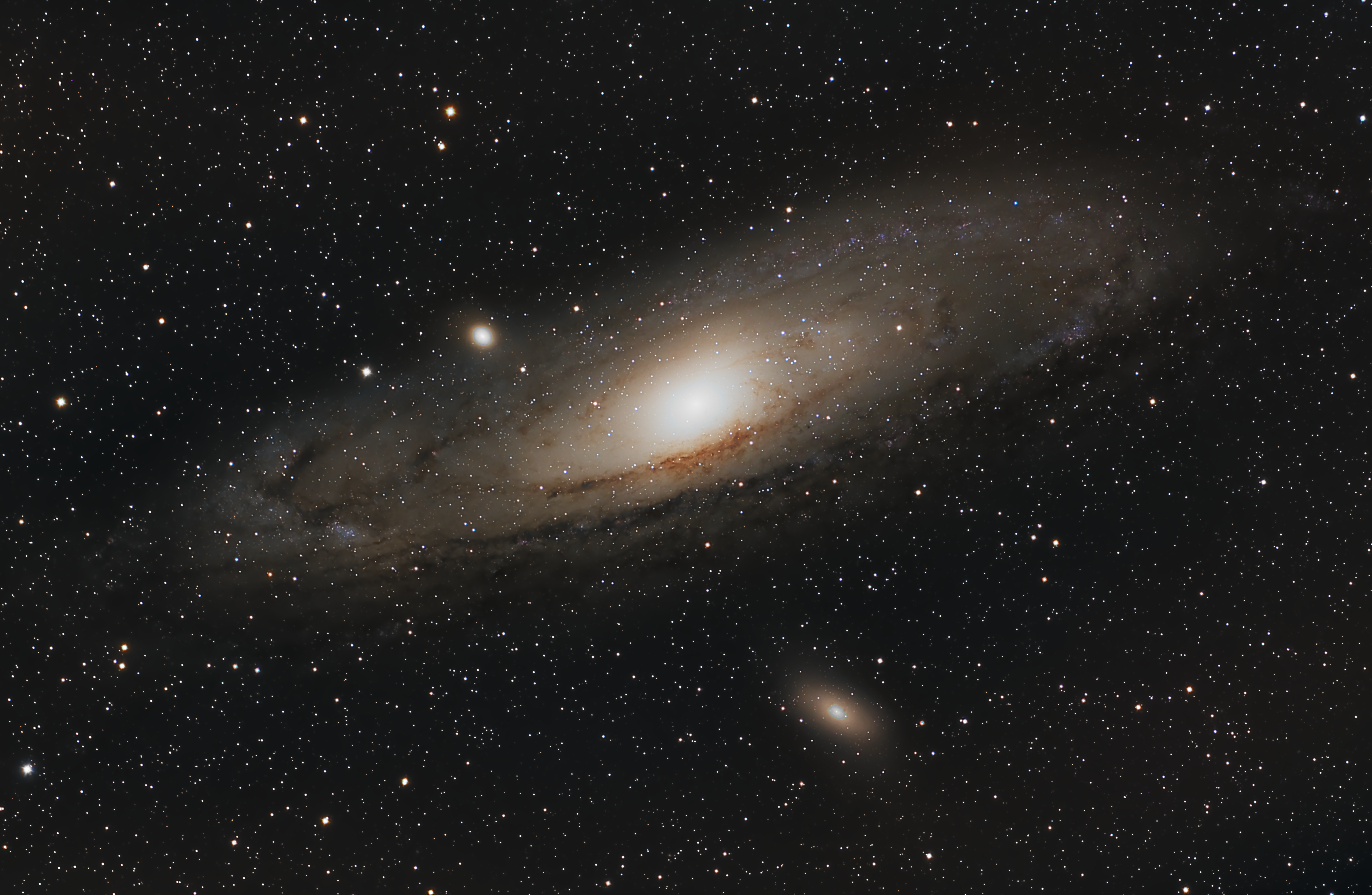 the andromeda breakthrough - HD 5104×3328
