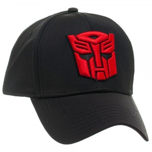f25503e7e0555 HASBRO TRANSFORMERS AUTOBOTS LOGO FLEX FIT STRETCH HAT CAP CURVED BILL  ACTIVE  Hasbro  BaseballCap