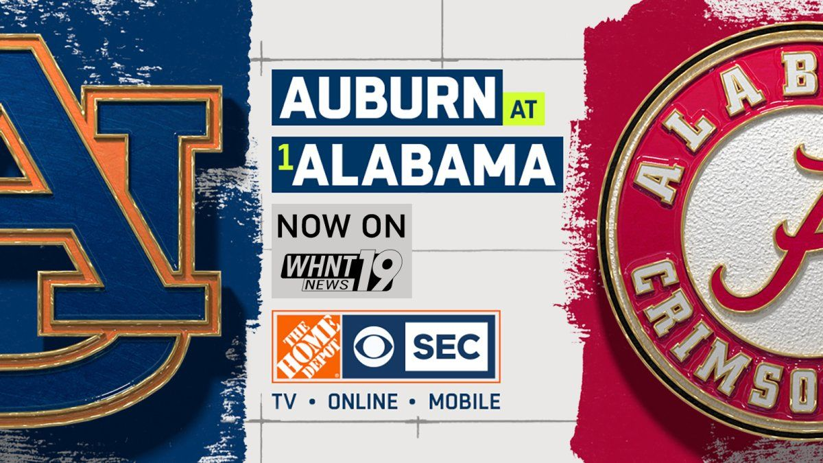 It's Iron Bowl Time! Click here for a link to the CBS