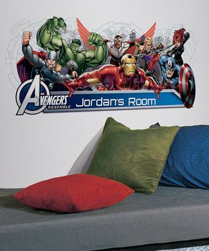 Put Some Magic Into Home Decor With This Set Of Marvel Wall Decals That Can  Be