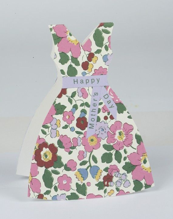 Mothers Day Card Made With Wrapping Paper How To Make A