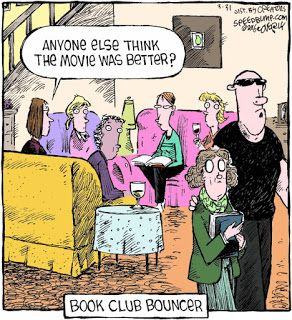 Mystery Fanfare Cartoon Of The Day Book Club Bouncer With
