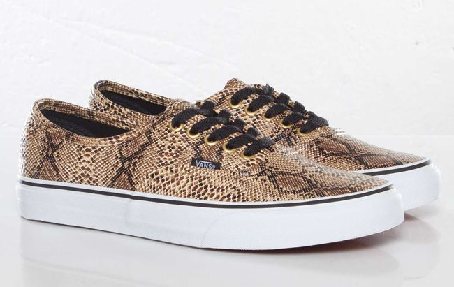 vans authentic gold