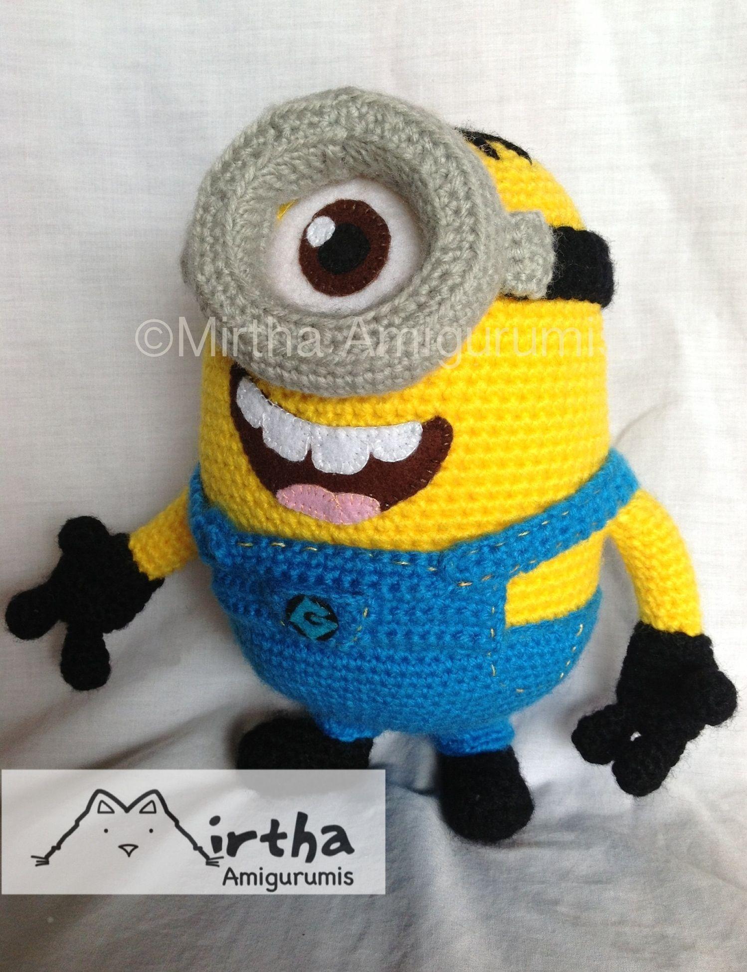 minion #despicableme #guayaquil #amigurumi #crochet #handmade https ...