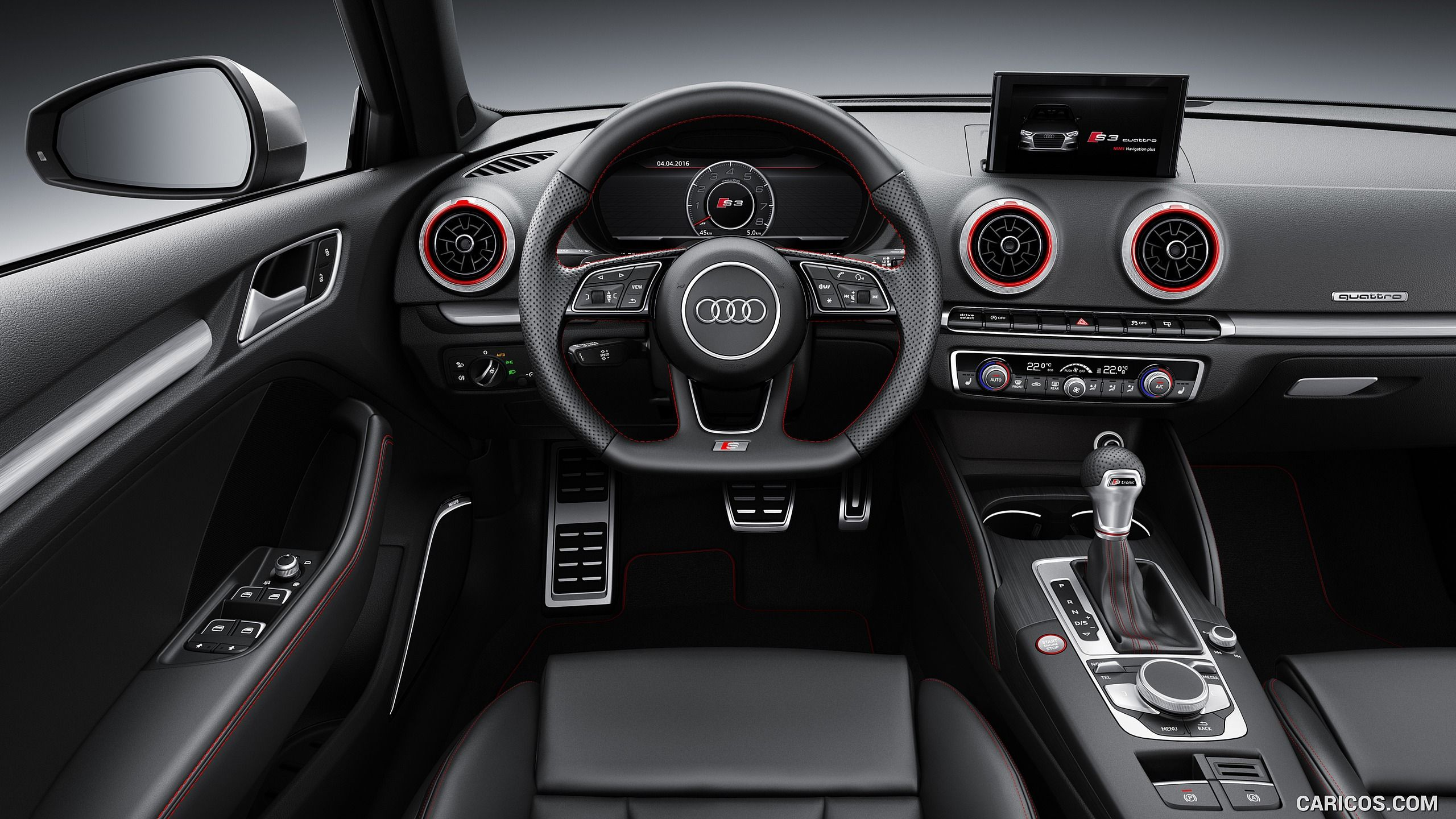 2017 Audi S3 Sportback Interior, Cockpit HD Mustang