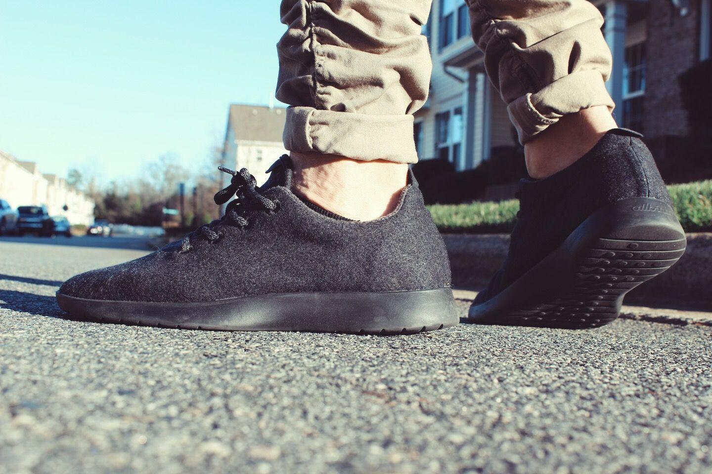Mens fashion, Allbirds shoes