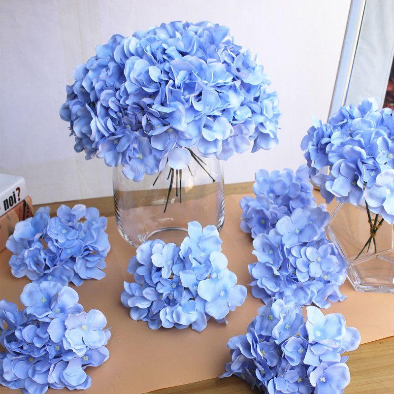 Apricot Silk Flower Wedding Decoration Artificial Flowers Spring