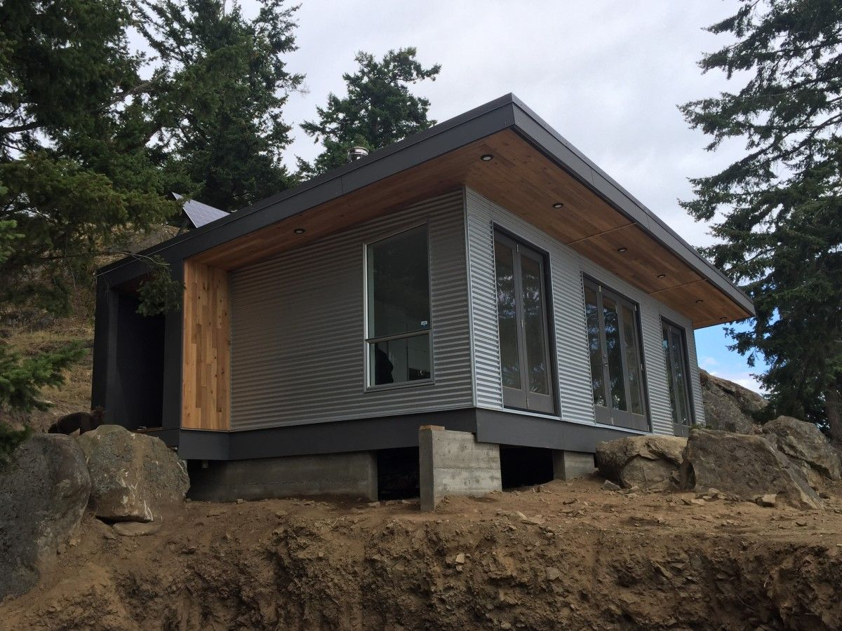 Tiny Home Designs: The Desolation Sound Cabin: A Modern Off-grid And Modular Cabin From West Coast Outbuildings
