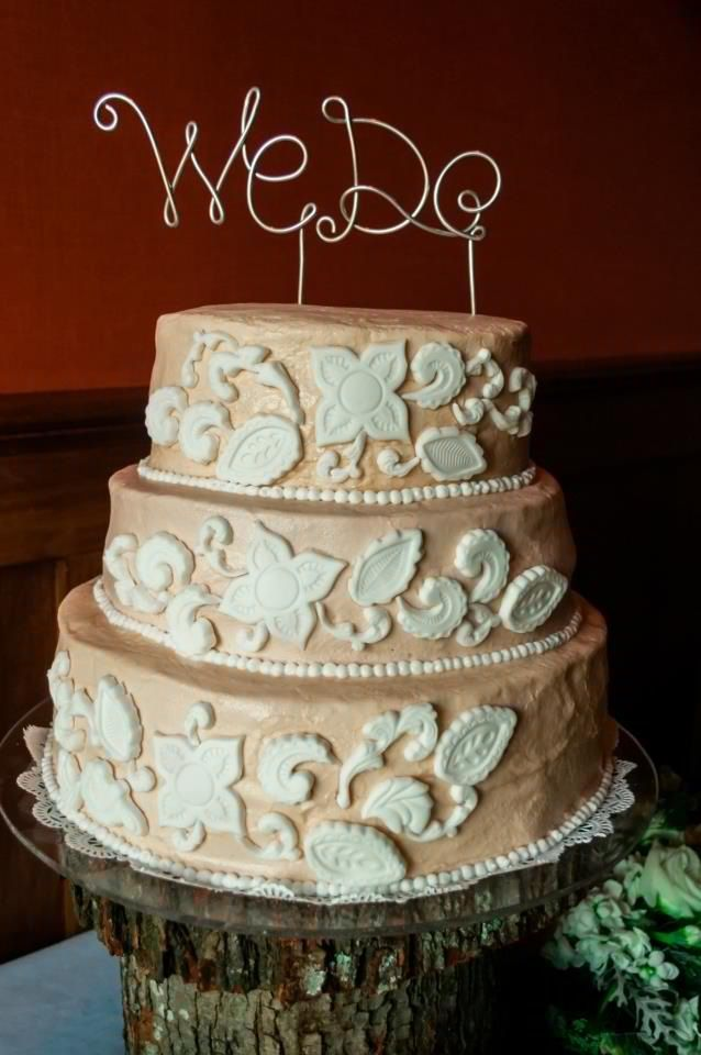 rustic lace wedding cake rustic lace wedding cake wire cake topper november 3 19507