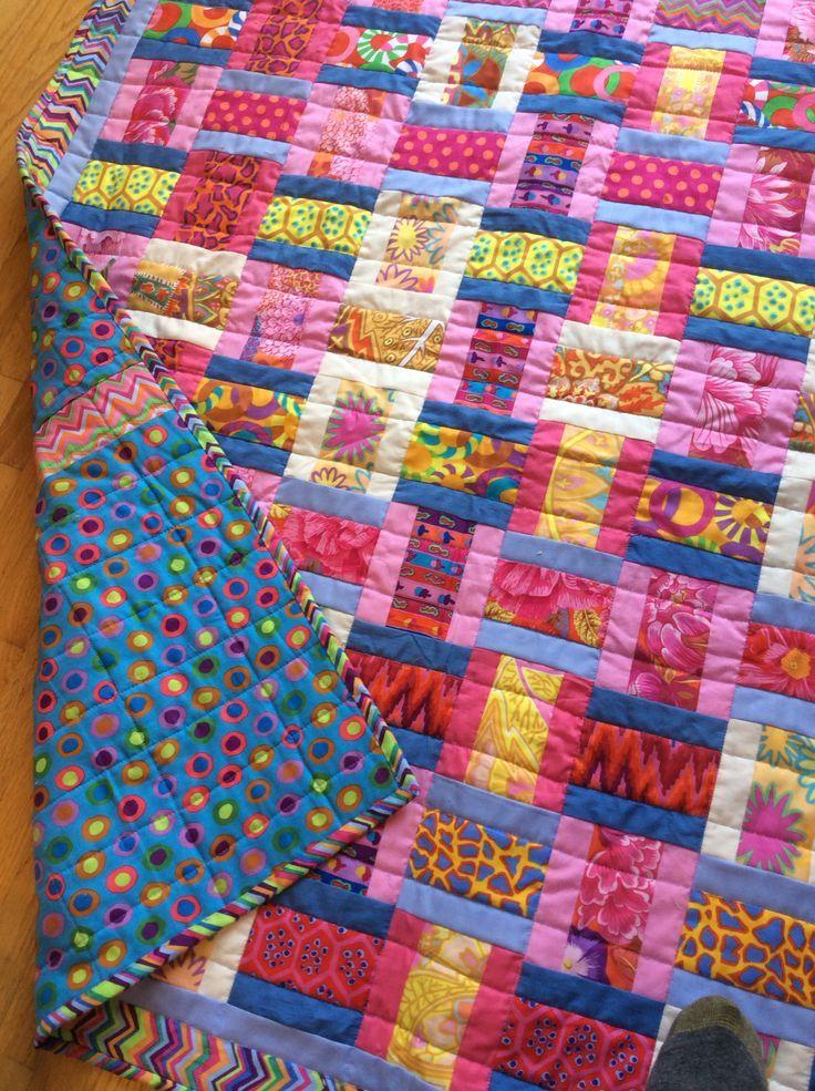 Quilt Designs Kaffe Fassett | Kaffe fassett baby quilt | Baby it ... : pinterest baby quilts - Adamdwight.com