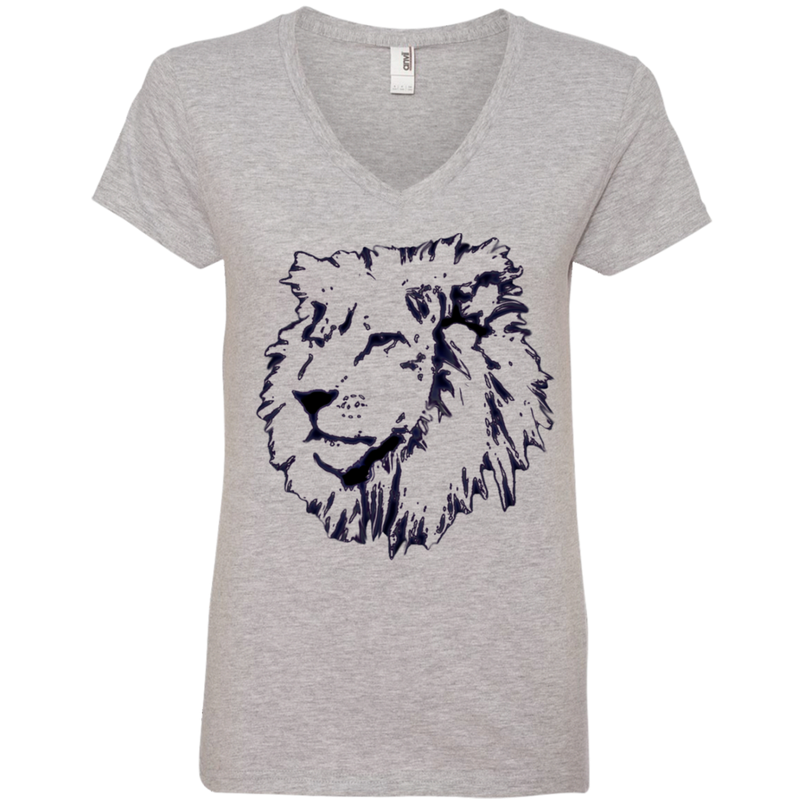 Just added this new Joseph Lion Outli... Check it out! http://catrescue.myshopify.com/products/joseph-lion-outline-ladies-v-neck-tee?utm_campaign=social_autopilot&utm_source=pin&utm_medium=pin