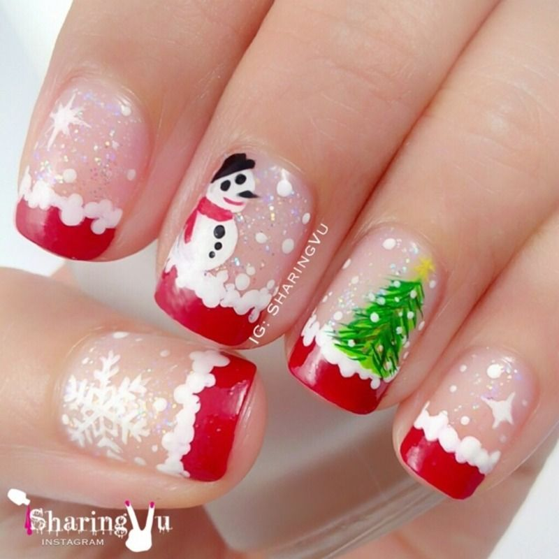 Nailpolis Museum Of Nail Art Merry Christmas By