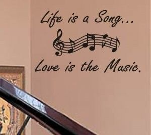 For The Music Lovers In Our House Love Music Tattoo Music Quotes Best Song Lyrics