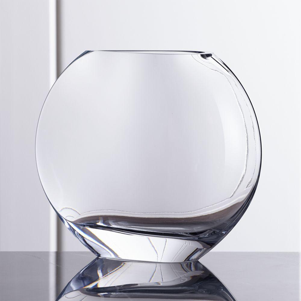 Samara Large Glass Vase - Crate and Barrel | Pinterest