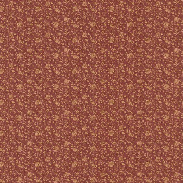 414-58506 Red Small Daisy - Emilia - Brewster Wallpaper