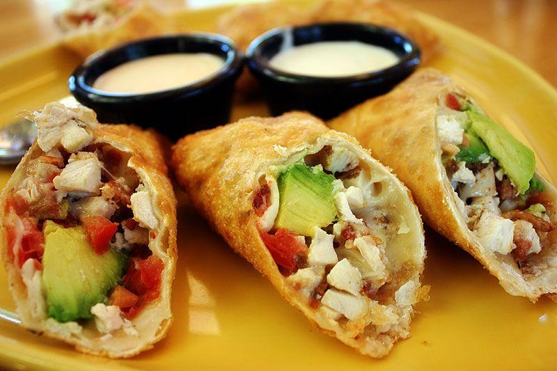 California Pizza Kitchen Avocado Egg Rolls Food And