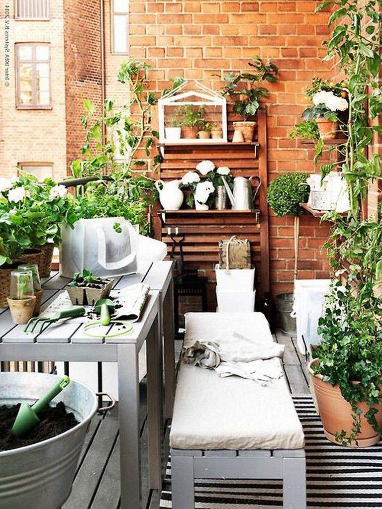 35 Beautiful DIY Small Patio Ideas On a Budget #diy # ...