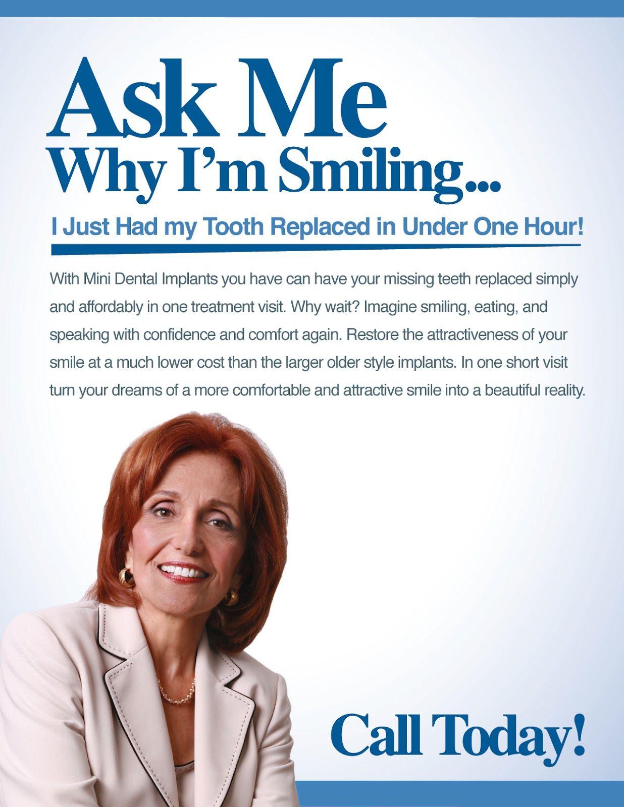 Mini Dental Implants ~ Family Dental Care