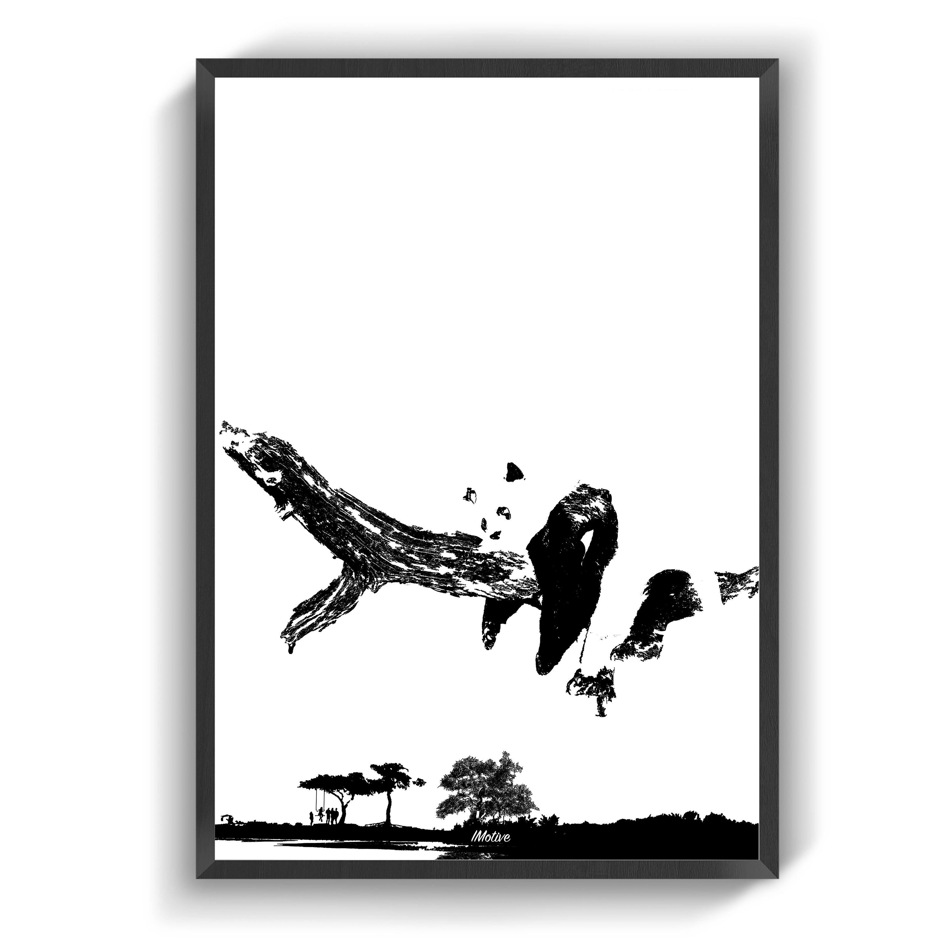 Plakater Pandaen Plakater Billeder Farver