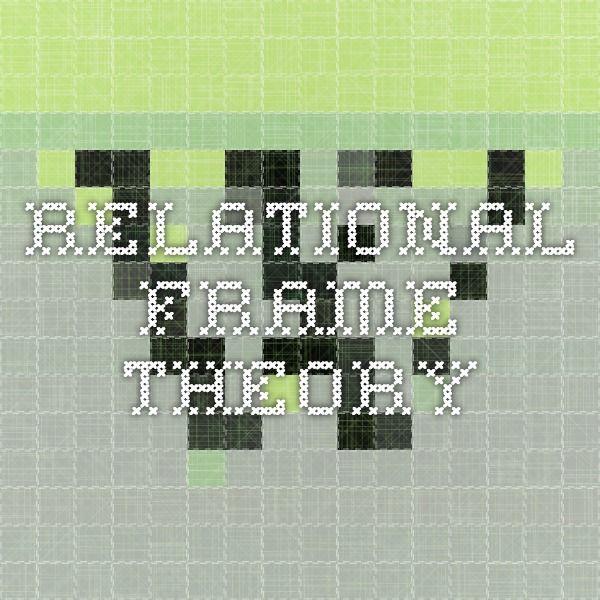 Relational Frame Theory 100 Best Books Games Phantom Time