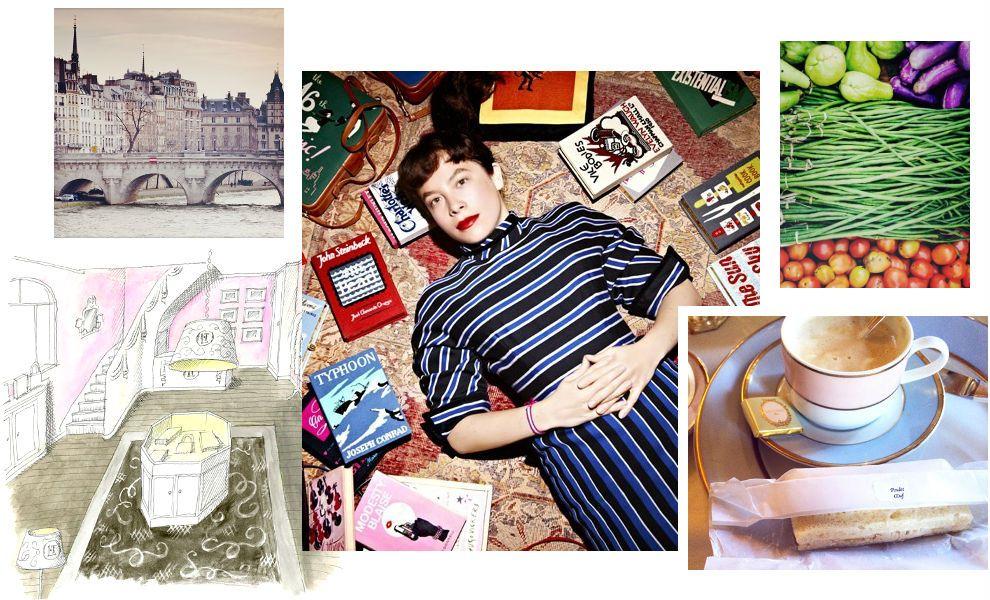 На этой неделе в Париже открылся первый бутик Olympia Le-Tan, а мы расспросили французского дизайнера об ее любимых парижских местах