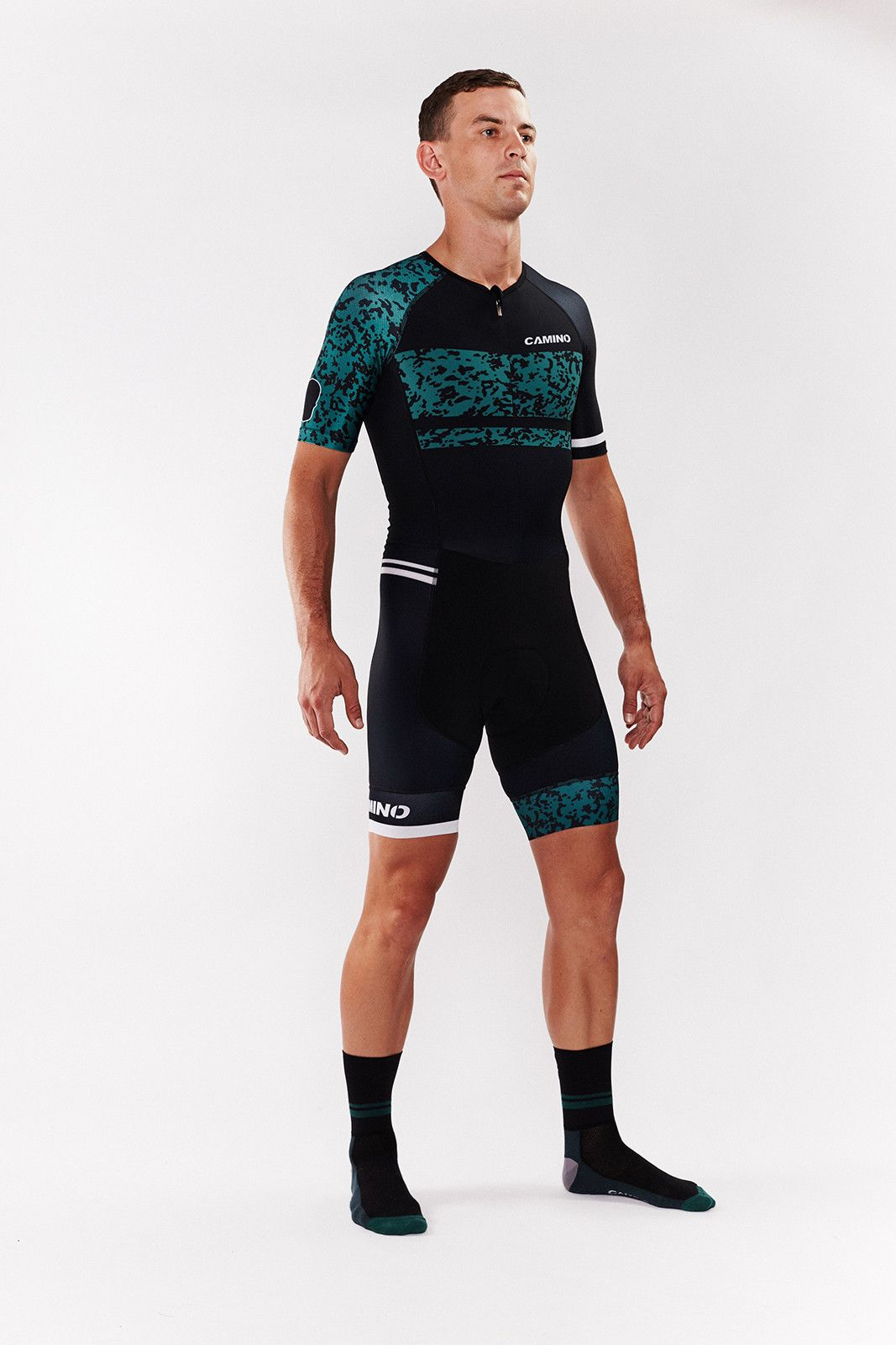 Mens Camo Triathlon Suit Camino Apparel Triathlon Suit