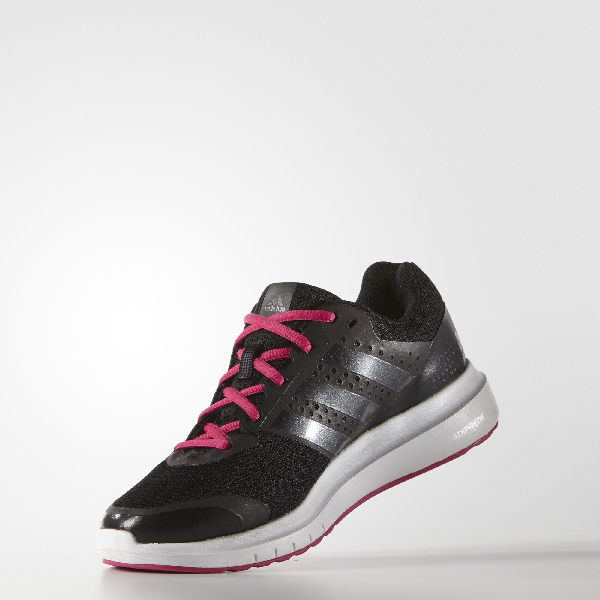 lowest price 18df1 99aa4 Adidas Duramo 7 Womens Shoes Core Black Night Metallic Bold Pink B33562