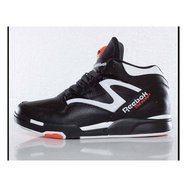 REEBOK PUMP OMNI LITE (DEE BROWN) ❤ liked on Polyvore