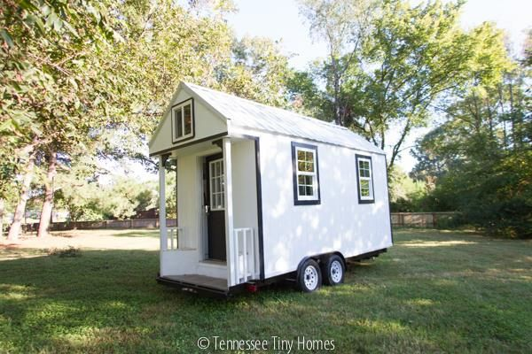 Tiny Whitey An 8x18 144 Sq Ft Tennessee Tiny Home Built by Joe