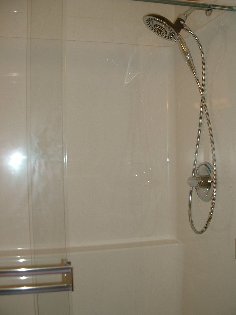 In2ition shower fixture 1 only per suite select which bath - What uses more water bath or shower ...