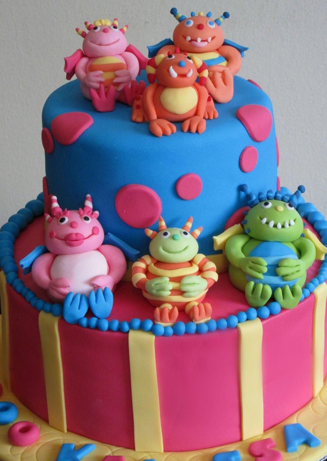 Henry Hugglemonster cake for a 3year old birthdaygirl Jaylas