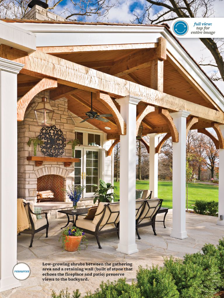 Ideas for new patio roof porches patios pinterest for New roof ideas