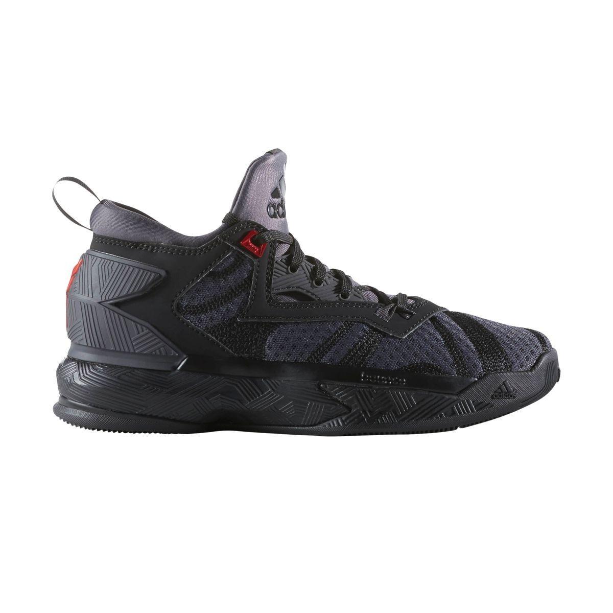 40bd20f89f358 Chaussures Basketball Adidas Damian Lillard Noir Junior - Taille   36