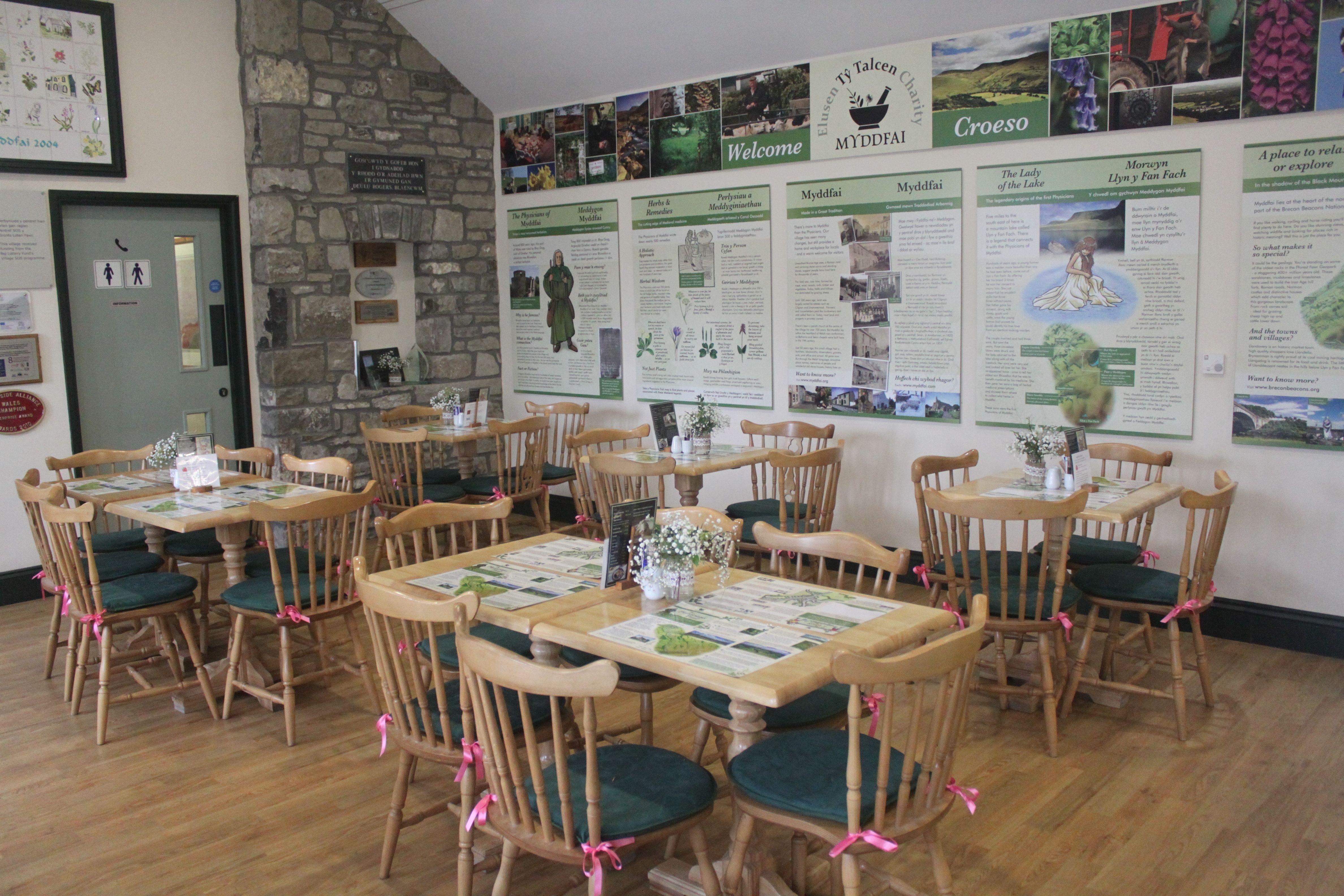 Myddfai Café at Myddfai Community Hall a great place to