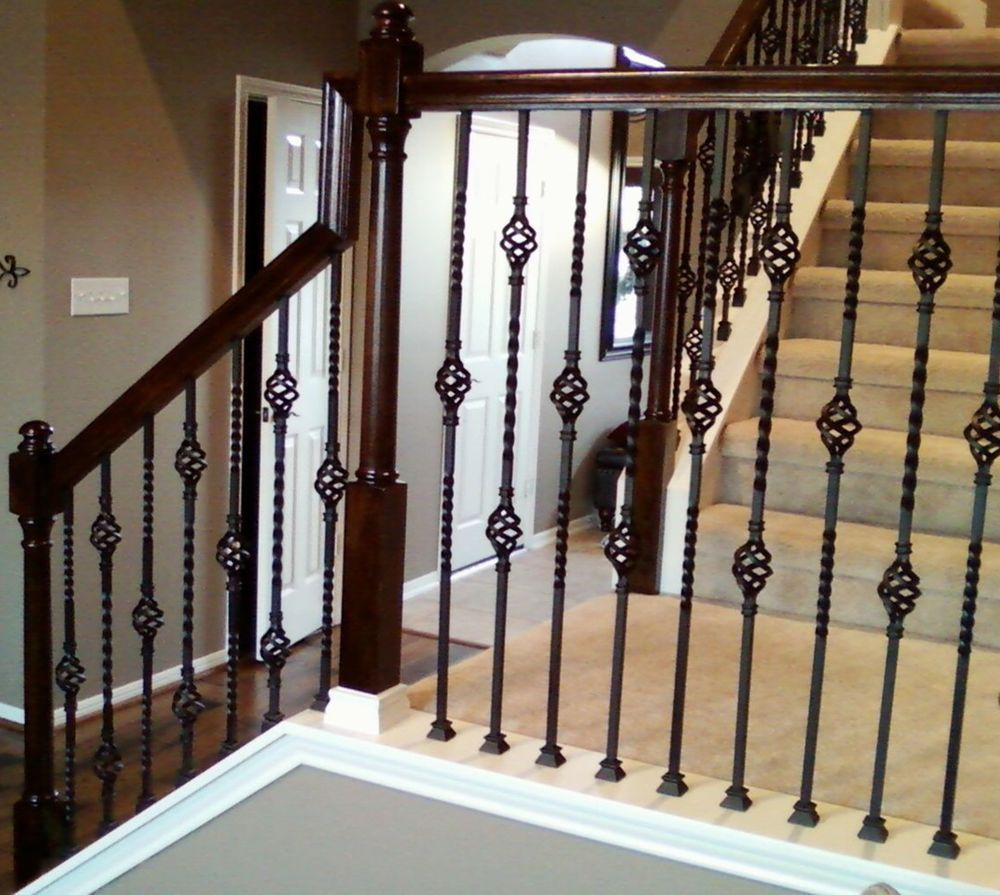 Wrought Iron Metal Stair Spindles