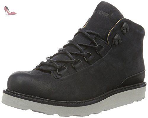 Blackstone MW76, Bottes Classiques femme - Noir - Noir, 39 EU - Chaussures  blackstone