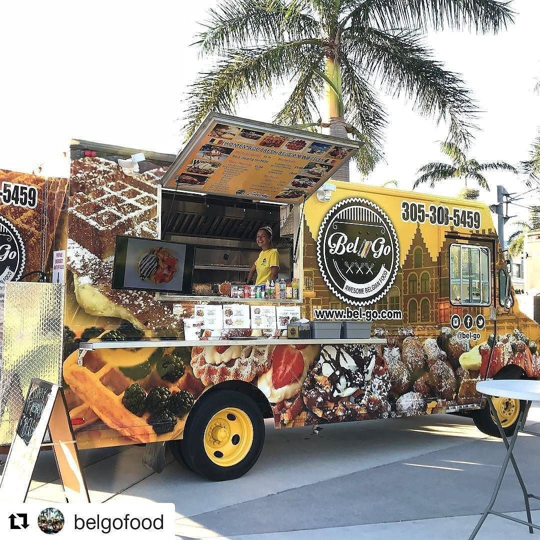 Credit to #belgofood Hollywood tonight till 10 pm perfect ...