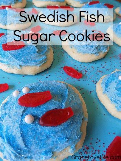 Swedish fish sugar cookies recipe sugar cookies for Swedish fish recipe