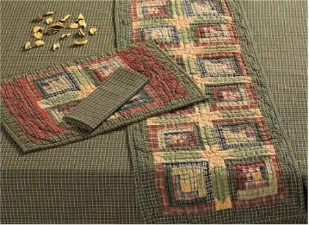 patterns for country tablerunners | Quilted Placemats 12x18 ... : free table top quilt patterns - Adamdwight.com