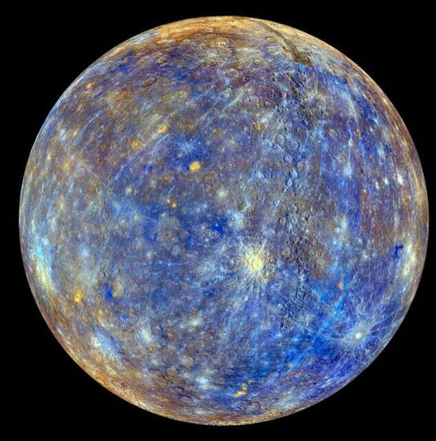 The Coolest Image Of The Planet Mercury منظر رائع جدا لكوكب عطارد وهو أقرب كواكب المجموعة الشمسية إلى الشمس Planets Astronomy Space And Astronomy