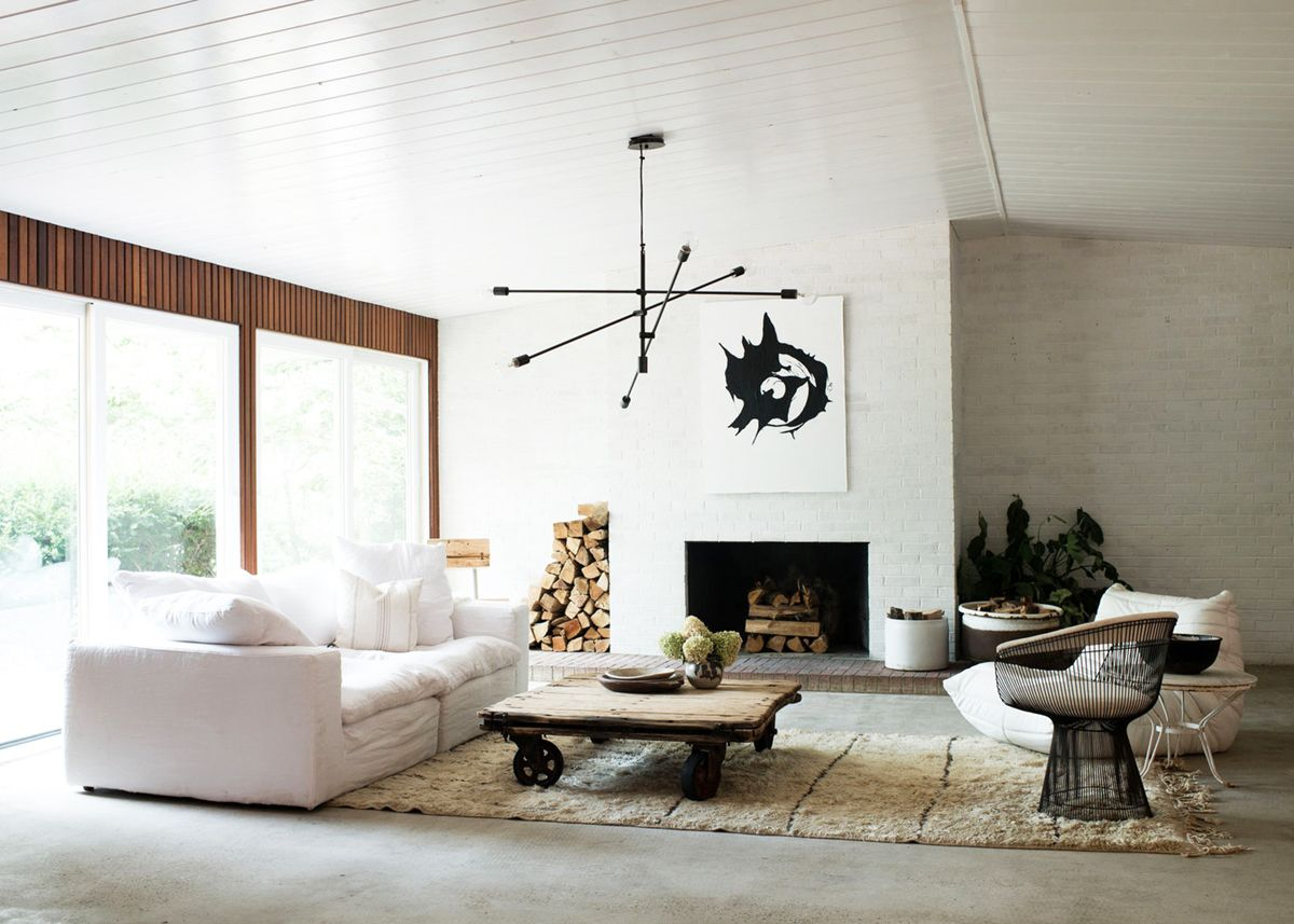 House Tour :: Luxuriously Minimal Mid-Century Modern Home | Minimal ...