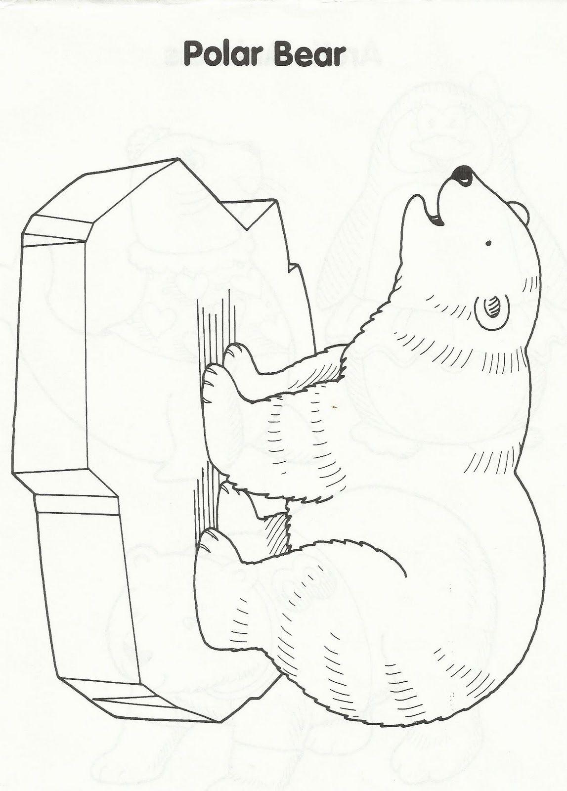 articanimals1.jpg 1,147×1,600 pixels Polar bear coloring