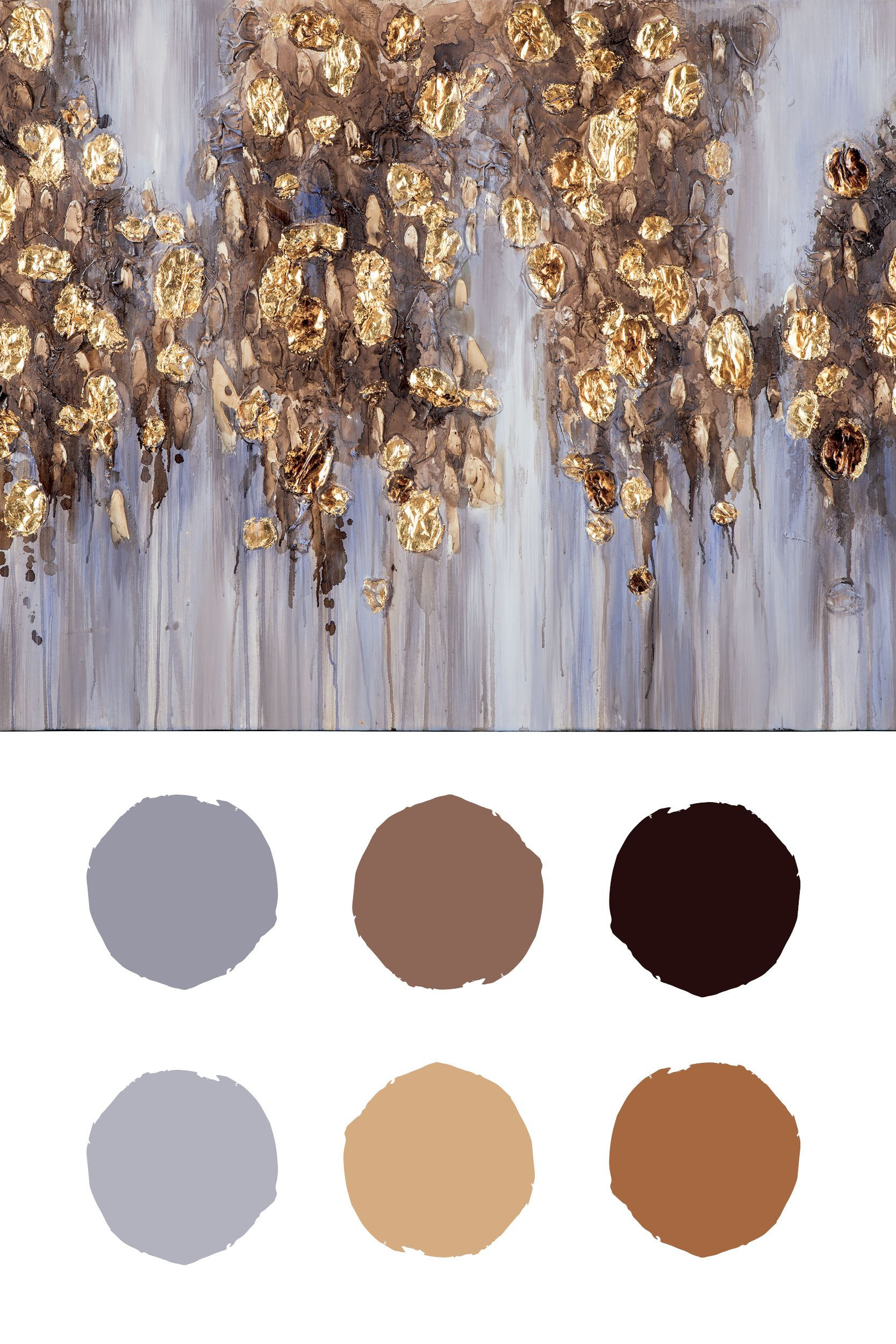 Color Palette Inspiration From Donier Wall Art By Ashley Furniture Color Colorinspiration Colorscheme Color Inspiration Color Crush Wall Art